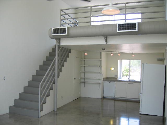 Santa rita lofts for Metal building with loft
